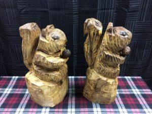 Chainsaw Squirrels - Colony Carvers - Amana, Iowa